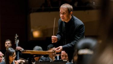 Conductor Ludovic Morlot.