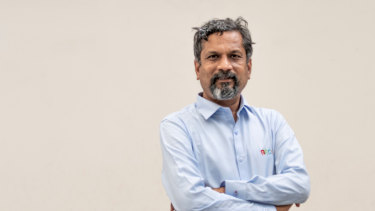 Zoho's founder Sridhar Vembu.