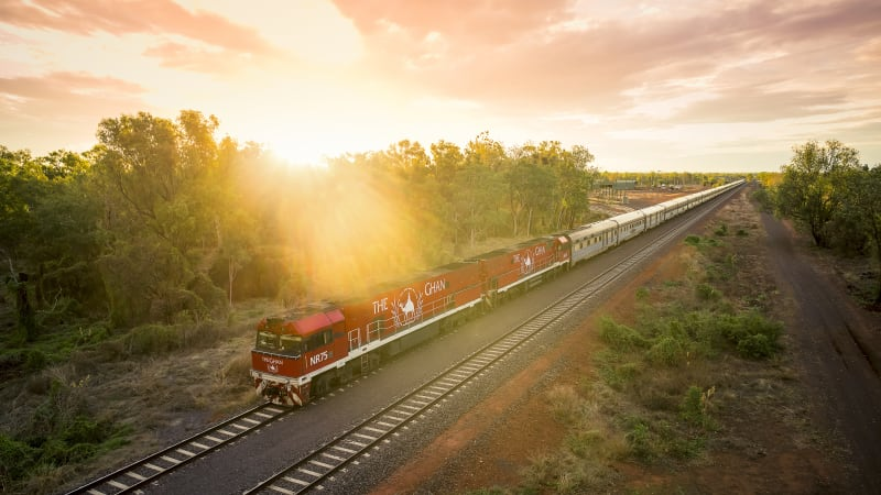 Good times on the Ghan, 90 years after its maiden journey
