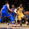 NBA wrap: LeBron completes the set as Lakers roll on