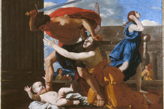The Massacre of the Innocents, ca. 1628-1629. Found in the collection of the Musée Condé, Chantilly.