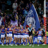 Western Bulldogs outmuscle Power to move to the top