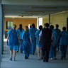 The Queensland parole board has a backlog of thousands of cases.