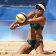 Mariafe Artacho del Solar of Australia in action in the semi-final.
