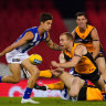 Players 'rusty' but AFL enjoys broadcast ratings leap