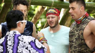 Steve, Benji, Matt and Zach on Australian Survivor.