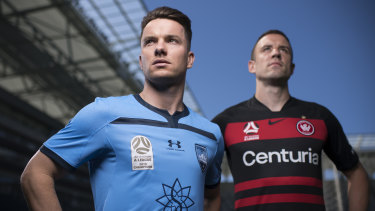 Relegated: The Sydney derby will be shown on a secondary channel on ABC on Saturday night.
