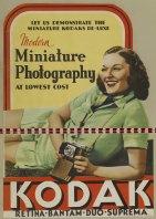 A 1930s Kodak advertising poster.