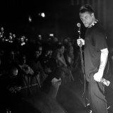 Jason Williamson on stage in November at London's Hammersmith Apollo.