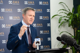 AMA WA president Dr Andrew Miller says the government needed to tap into their budget surplus.