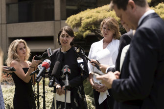 Premier Gladys Berejiklian announces the new rules on Thursday.