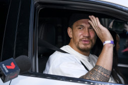 Returning Roosters superstar Sonny Bill Williams leaves quarantine on Thursday afternoon.