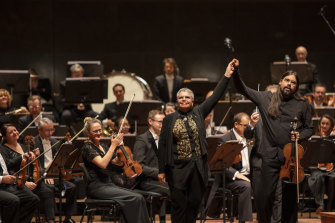 In February this year, Martin conducted the premiere of Deborah Cheetham's 'Nanyubak', played by Aaron Wyatt and the MSO
