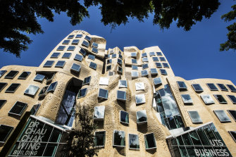 The UTS Business School in Ultimo.