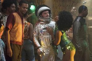 Josh Futturman (Josh Hutcherson) has his cover blown at a black sorority party in 1969.