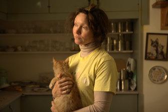 Essie Davis as Helen in Nitram.