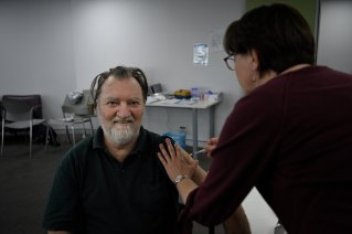 Daniel Callaghan trusted whatever vaccine he could receive would be worth getting.