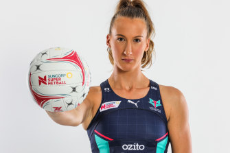 Melbourne Vixens defender Emily Mannix is proud to reach her 50th Super Netball game.