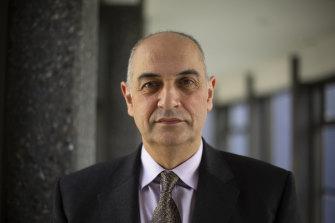 "Professor Joseph Ibrahim: ""It's an astonishingly low number vaccinated."""