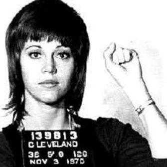 Under arrest in 1970 after vitamins found in her bag were mistaken for drugs.