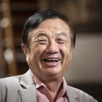 Ren Zhengfei, founder and CEO of Huawei Technologies Company, in May 2019.
