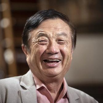 Ren Zhengfei, founder and CEO of Huawei Technologies Company, in May 2019.