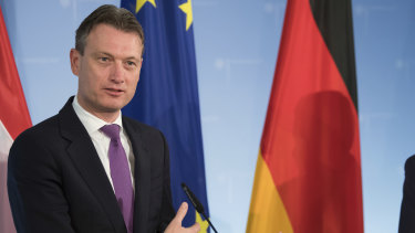 Netherlands Minister of Foreign Affairs Halbe Zijlstra