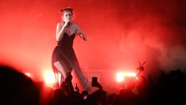 Lorde played the Brisbane Riverstage on Thursday as part of her 2017 Melodrama World tour.