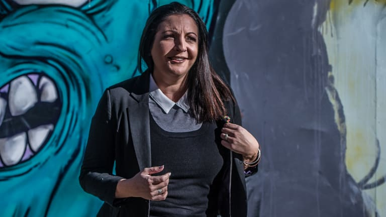 Kate Seselja, founder of the Hope Project, overcame an addiction to the pokies.