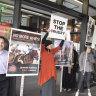 Animal activists disrupt Melbourne's 'Ride Like A Girl' film premiere