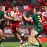 Why coach is happy Tonga have been booted from international league