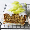 Helen Goh's parsnip, apple and lime loaf cake