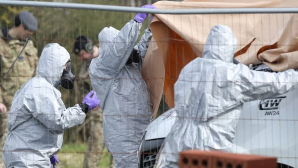 Nerve toxin used on ex-spy 'was planted in daughter's suitcase'