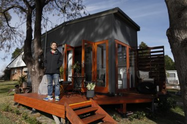 Branden Kuah says tiny homes are energy-efficient and easy to construct.