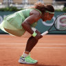'C'mon!': Williams gets vocal on way to the fourth round at Roland-Garros