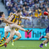 Hawks, Bombers among frantic finish to AFL season as Swans slide