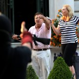 GOP convention speakers: Lawyers Mark McCloskey and his wife, Patricia, confronted protesters outside their home in St Louis in June.