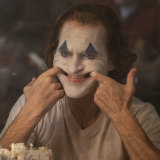 Political art: Joaquin Phoenix's Joker.