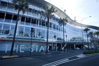 The Star Casino in Pyrmont.