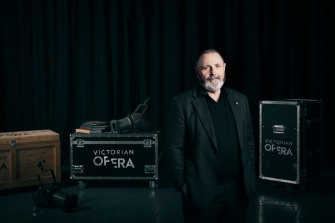 Victorian Opera artistic director Richard Mills.