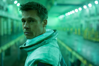 Brad Pitt in plays Roy, who is searching for his father in space.