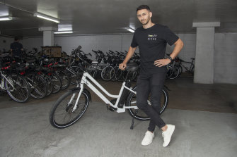 Bolt Bikes chief executive Mina Nada said the company has provided extra support to new clients as a result of the uptick in demand.