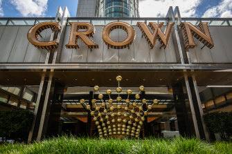 The alleged altercation happened at Crown casino in Melbourne on New Year's Day in 2016.