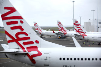 While competing bids to help Virgin in return for basing itself out of either NSW or Queensland emerged, the NSW government had yet to offer a cash amount, and Queensland's $200 million advance was immaterial.