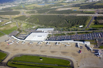 Brisbane Airport's international terminal will be gradually replaced by a new terminal closer to both runways.