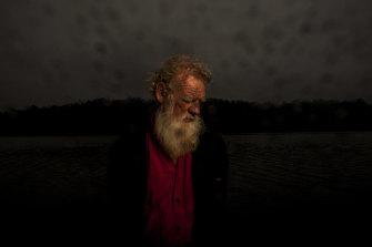 Bruce Pascoe at his property in Gipsy Point. He says slavery existed in Australia post-colonisation.