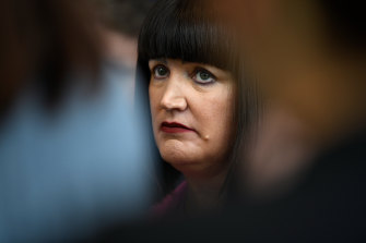 Then-Rugby Australia chief executive Raelene Castle along with the board kept a lid on the organisation's 2019 results.