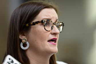 Education Minister Sarah Mitchell welcomed Professor Geoff Masters' review.