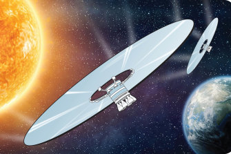 More out of this world geo-engineering ideas include building giant mirrors or fleets of reflective satellites in space to block some of the sun's intensity.