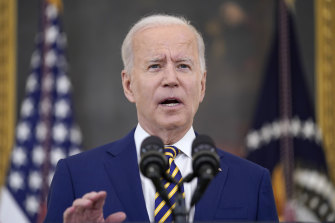 US President Joe Biden has connected the dots between unprecedented weather conditions and climate change.